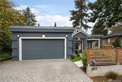 Mercer Island Single Family Home For Sale: 2817 72nd Ave SE