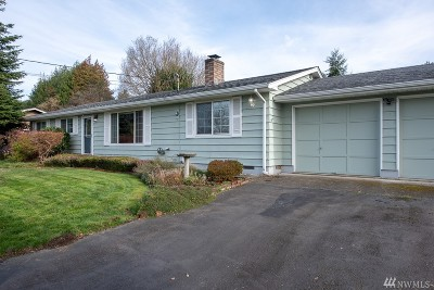 Snohomish Single Family Home Contingent: 1315 14th Place
