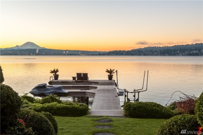 Mercer Island Single Family Home For Sale: 8715 85th Ave SE