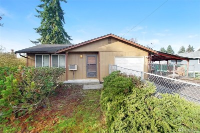 Spanaway Single Family Home For Sale: 17418 Spanaway Lane E