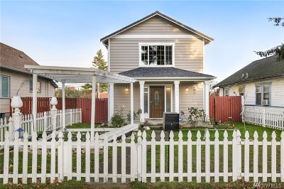 Tacoma Single Family Home For Sale: 2139 S L St