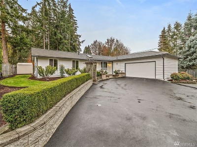 Renton Single Family Home For Sale: 15612 SE 203rd