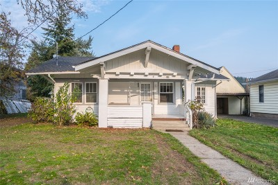 Chehalis Single Family Home For Sale: 464 SW Chehalis Ave