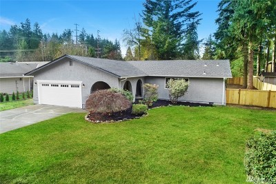 Puyallup Single Family Home For Sale: 14314 110th Av Ct E