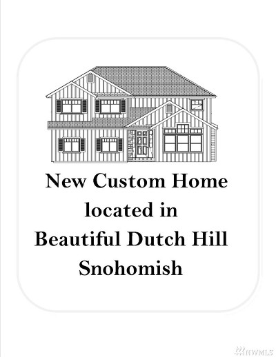Snohomish Single Family Home For Sale: 14417 81st Place SE