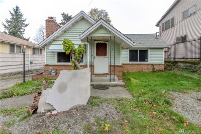 Seattle Single Family Home For Sale: 10816 5th Ave S