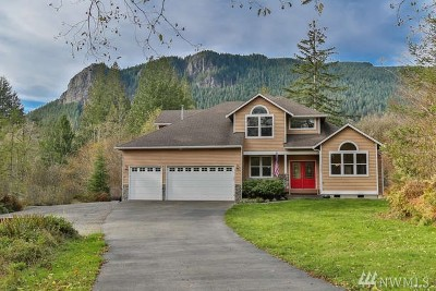 North Bend WA Single Family Home For Sale: $685,000