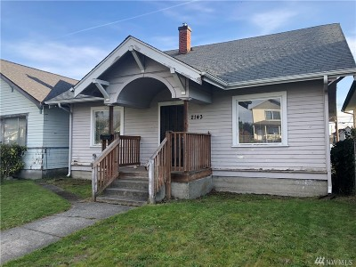 Tacoma Single Family Home For Sale: 2143 S L St