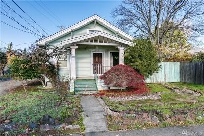 Pierce County Single Family Home For Sale: 615 E 40th St