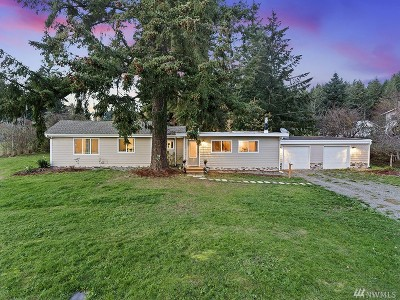 Puyallup Single Family Home For Sale: 5613 103rd St E
