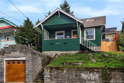 Seattle Single Family Home For Sale: 4804 3rd Ave NW