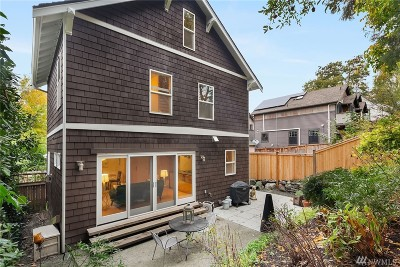 Seattle Single Family Home For Sale: 822 15th Ave