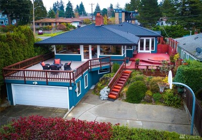 Seattle Single Family Home For Sale: 12259 6th Ave NW