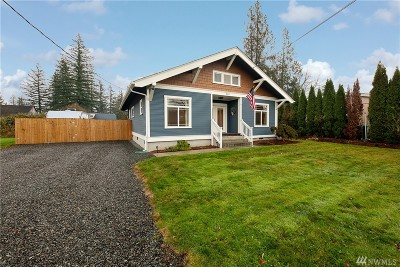 Gold Bar Single Family Home For Sale: 232 5th St