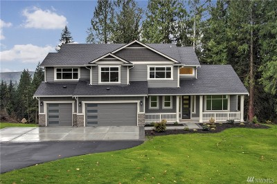 Snohomish Single Family Home For Sale: 18724 55th St SE #16