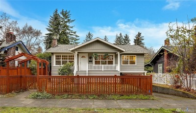 Seattle Single Family Home For Sale: 2715 39th Ave SW