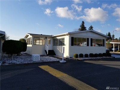 Auburn WA Mobile Home For Sale: $118,200