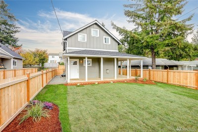 Seattle Condo/Townhouse For Sale: 3706 SW 106th St