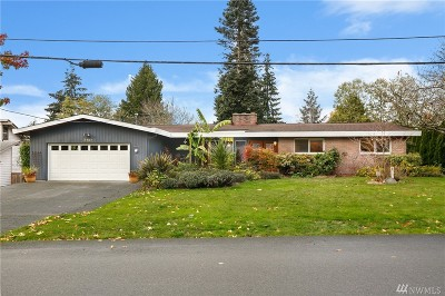 Edmonds Single Family Home For Sale: 7727 175th St SW
