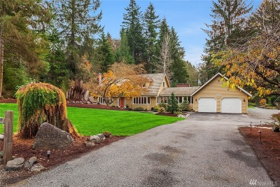 Issaquah Single Family Home For Sale: 33031 SE 110th St