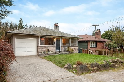 Seattle Single Family Home For Sale: 4575 35th Ave W