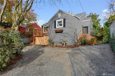 Seattle Single Family Home For Sale: 3534 SW Elmgrove St