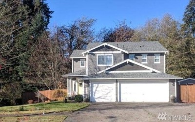 Puyallup Single Family Home For Sale: 1626 34th St SE