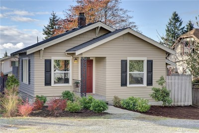Seattle Single Family Home For Sale: 10015 California Ave SW
