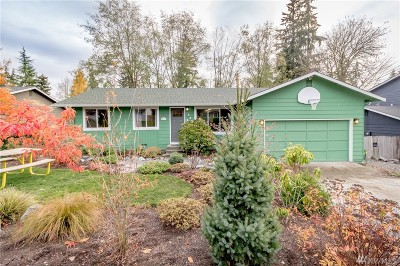 Bothell Single Family Home For Sale: 422 216th St SW