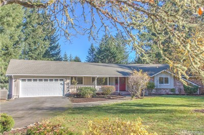 Olympia Single Family Home For Sale: 9723 62nd Ave SE
