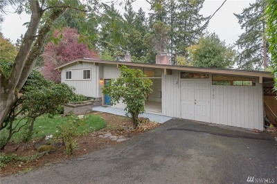 Bellevue Single Family Home For Sale: 2106 109th Ave SE