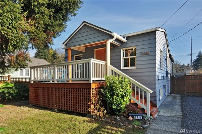 Seattle Single Family Home For Sale: 8528 12th Ave NW