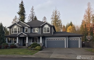 Puyallup Single Family Home For Sale: 6305 E 116th St Ct