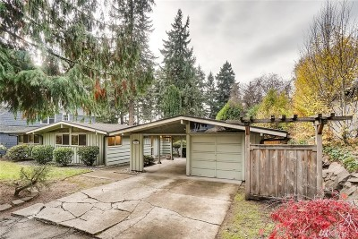 Bellevue Single Family Home For Sale: 3041 106th Ave SE
