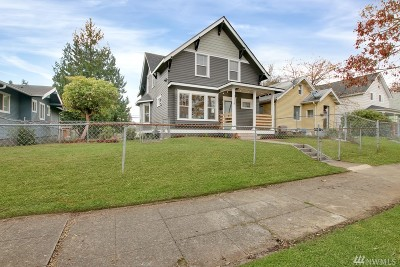 Tacoma Single Family Home For Sale: 2324 S J St