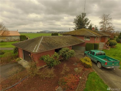 Skagit County Single Family Home For Sale: 17089 Fir Island Rd