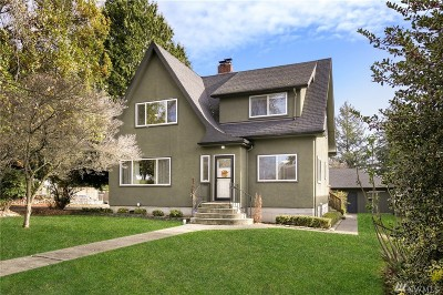 Tacoma Single Family Home For Sale: 1401 S Tyler St