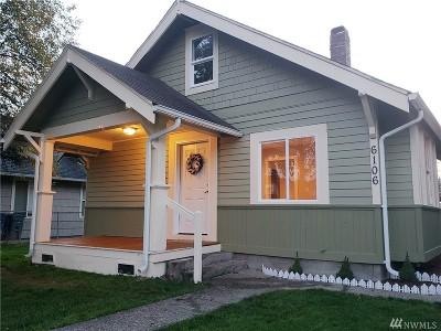 Tacoma Single Family Home For Sale: 6106 S Yakima Ave