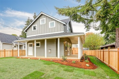 Seattle Single Family Home For Sale: 3706 SW 106th St #Z