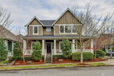 Issaquah Single Family Home For Sale: 2602 20th Ave NE