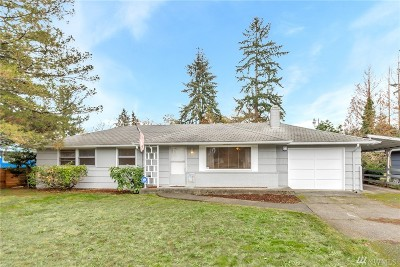 Pierce County Single Family Home For Sale: 8722 Washington Blvd SW