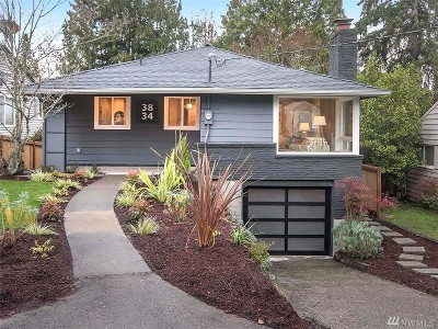 Seattle Single Family Home For Sale: 3834 NE 92nd St