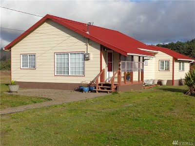 Grays Harbor County Single Family Home For Sale: 4840 Pacific Ave