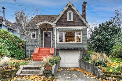 Seattle Single Family Home For Sale: 418 30th Ave