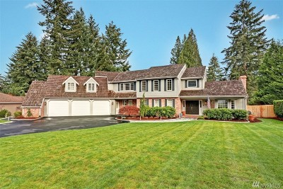 Woodinville Single Family Home For Sale: 18020 157th Ave NE