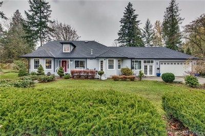 Lake Tapps Single Family Home Contingent: 1406 205th Ave E