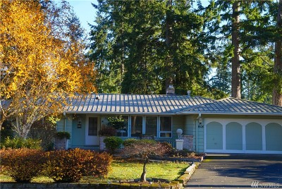 Port Orchard Single Family Home For Sale: 3608 Madrona Dr SE