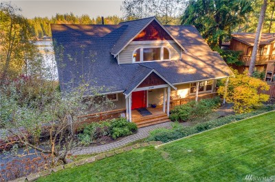 Poulsbo Single Family Home For Sale: 12886 Lake Ave NW