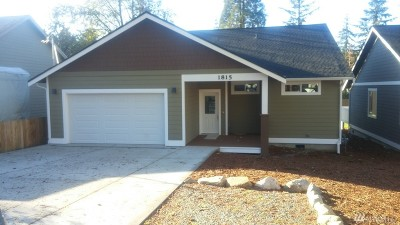 Bellingham Single Family Home For Sale: 1815 Olympic Place
