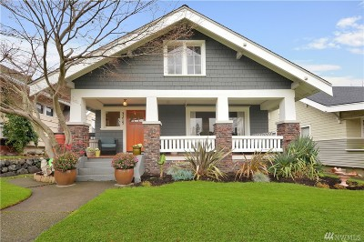 Tacoma Single Family Home For Sale: 3219 N 20th St